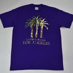 Vintage - Reflective Los Angeles Palm Trees